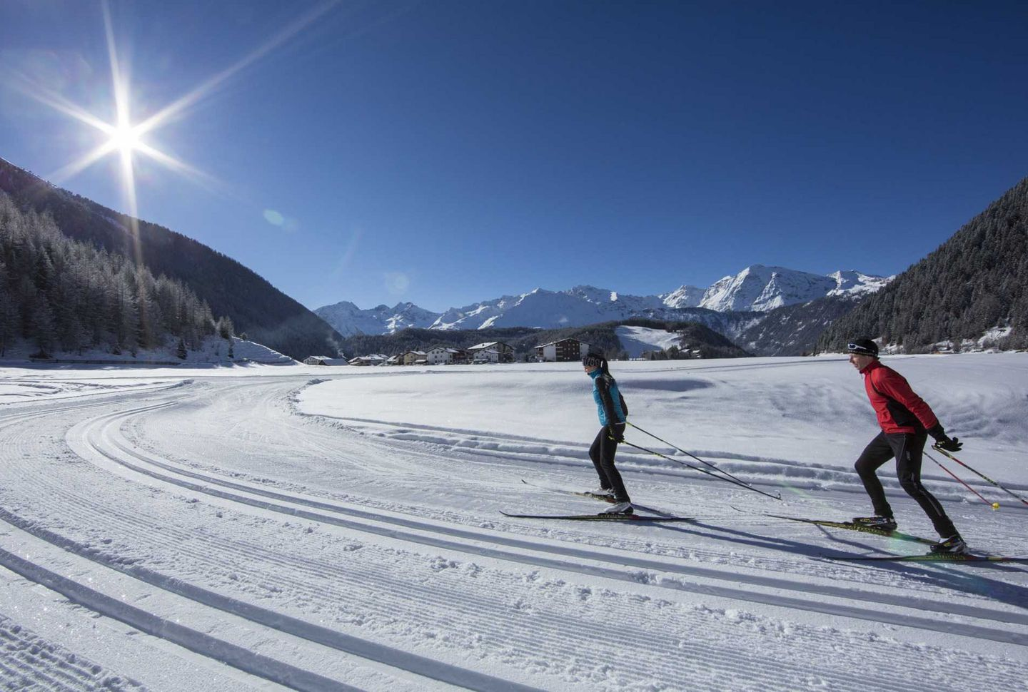 Tobogganing Ötztal :: Cross-country skiing & winter hiking in the Ötztal